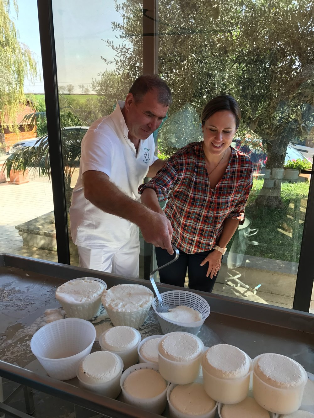 cheese making, ricotta, cooking lesson, fun, happy
