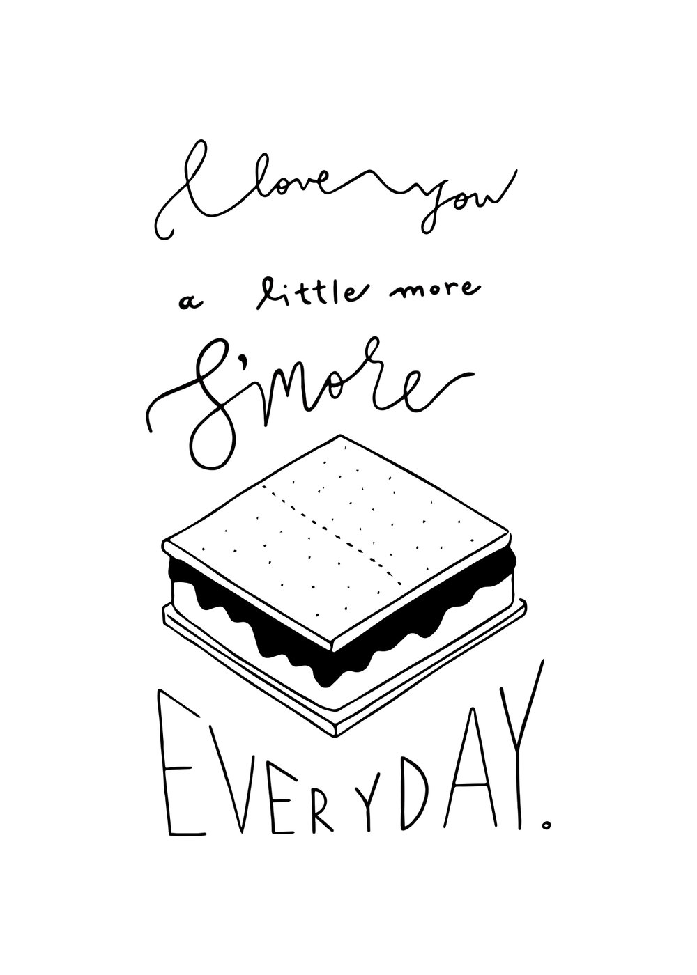 I Love You A Little Smore.jpg