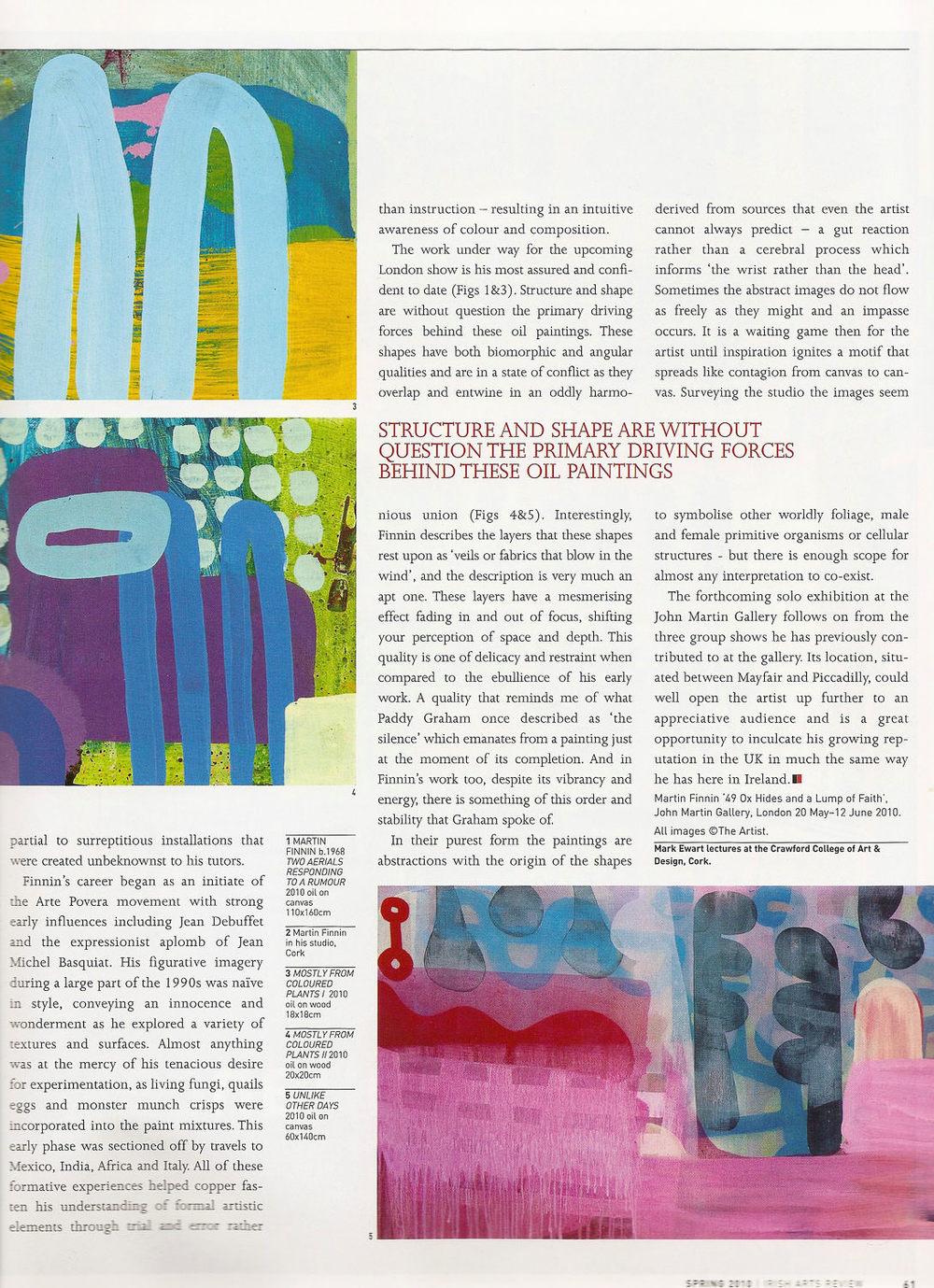Irish Art Review