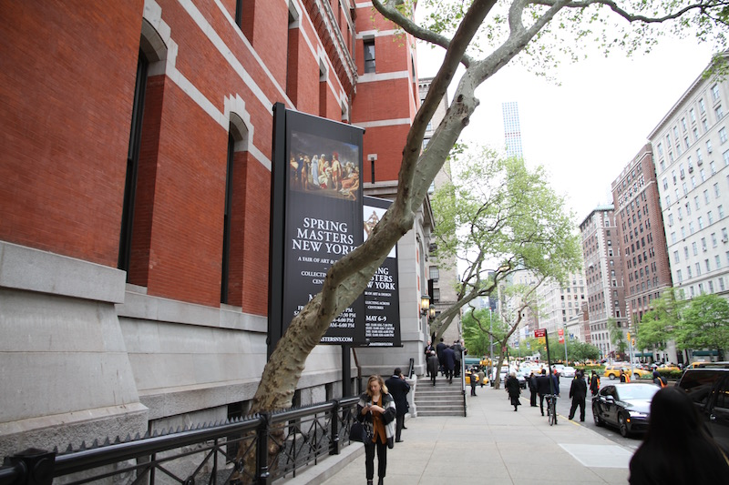 The Park Avenue Armory, the home of Spring Masters. Photo: Henri Neuendorf via  artnet