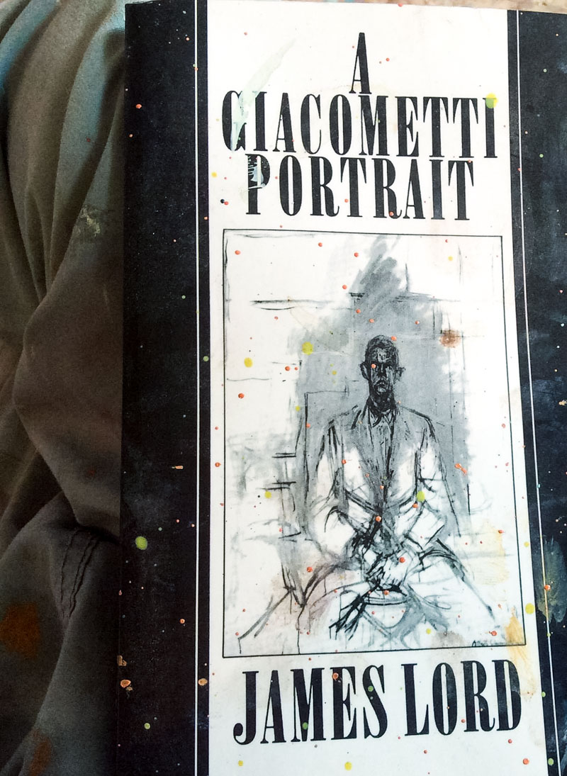 Finnin Giacometti Portrait Book