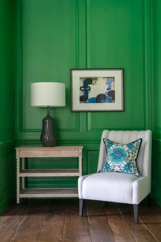 Interior by William Yeoward London | Print by Irish Artist Martin Finnin