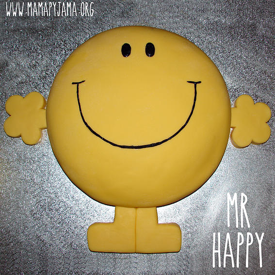 Mr Happy Cake