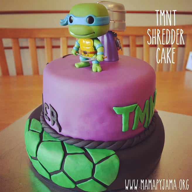Shredder Cake - Ninja Turtles
