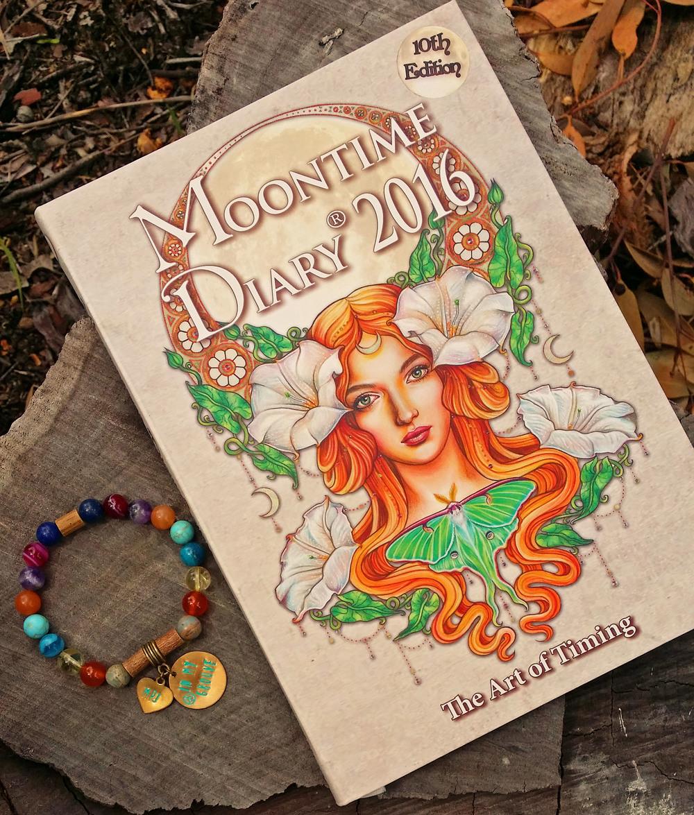 Moontime Diary MPJ Chakra Healing Bracelet WIN