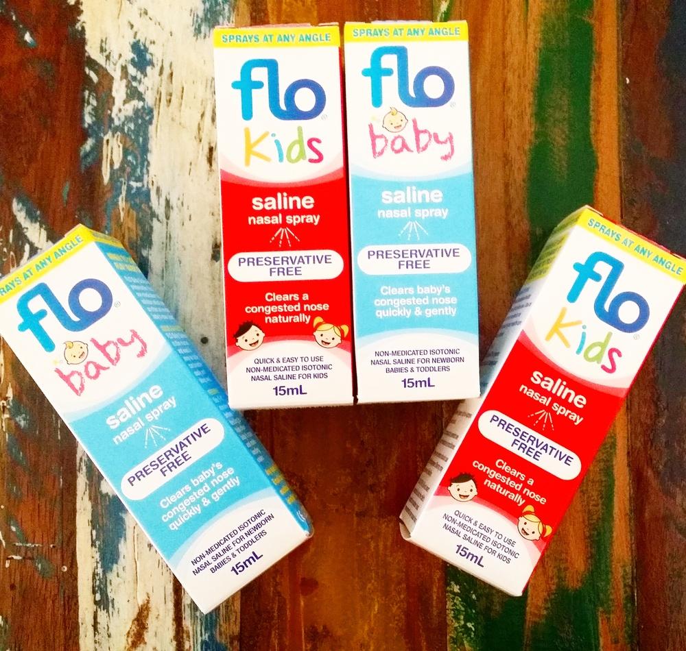 Flo Baby Nasal Spray Mama Pyjama