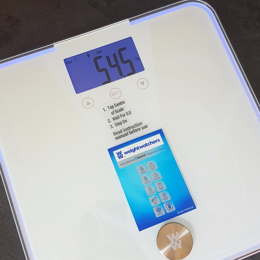 Weight Watchers Body Balance Bluetooth Diagnostic Scale Mama Pyjama