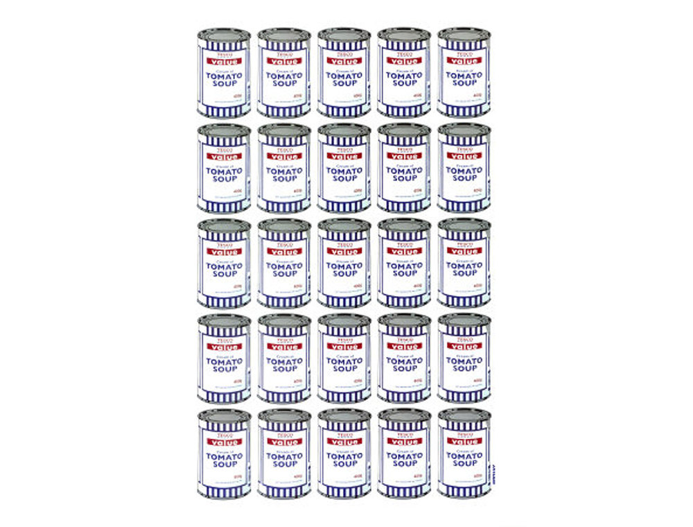 Banksy - Tomato Soup Cans