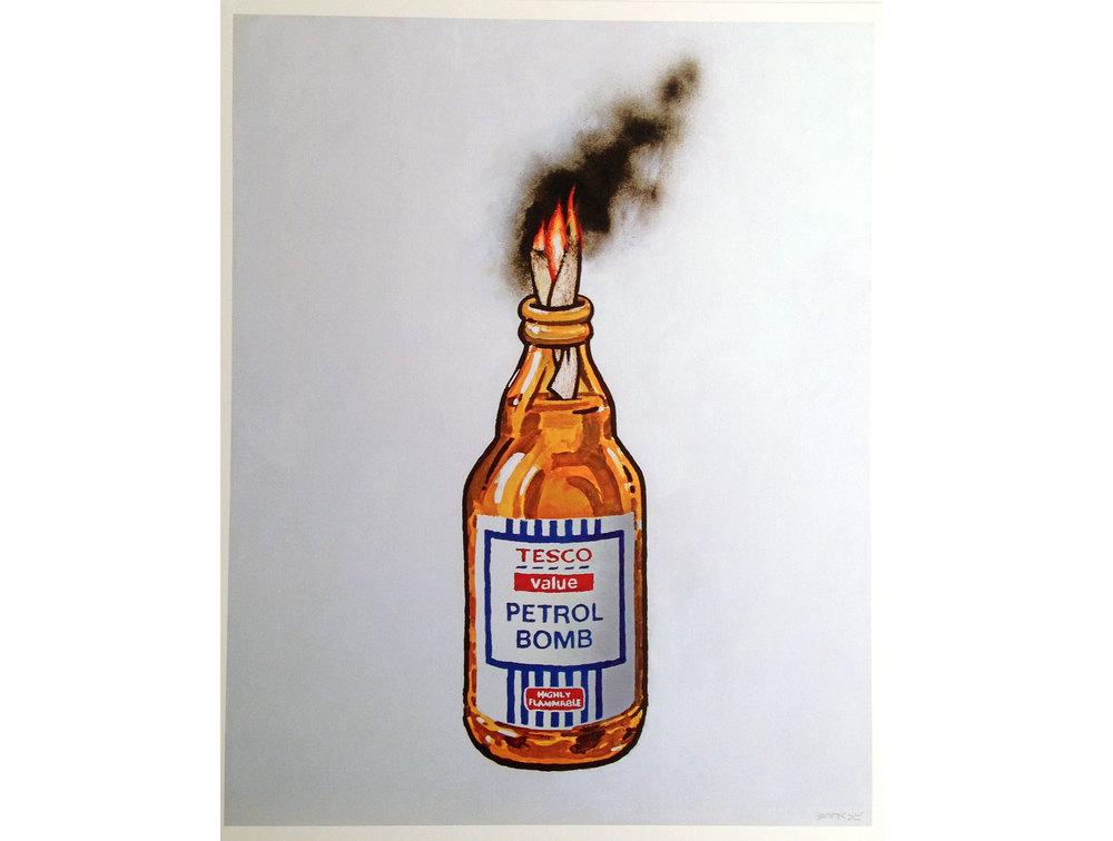 Banksy - Petrol Bomb