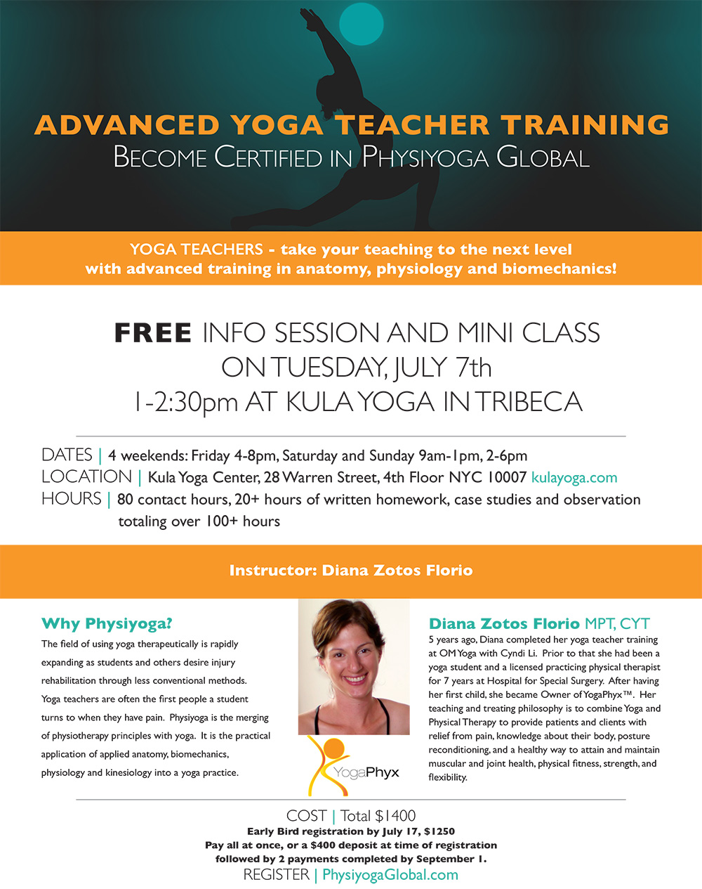 Free info session
