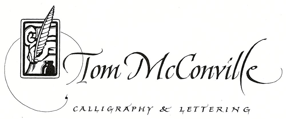 Tom McConville Calligraphy