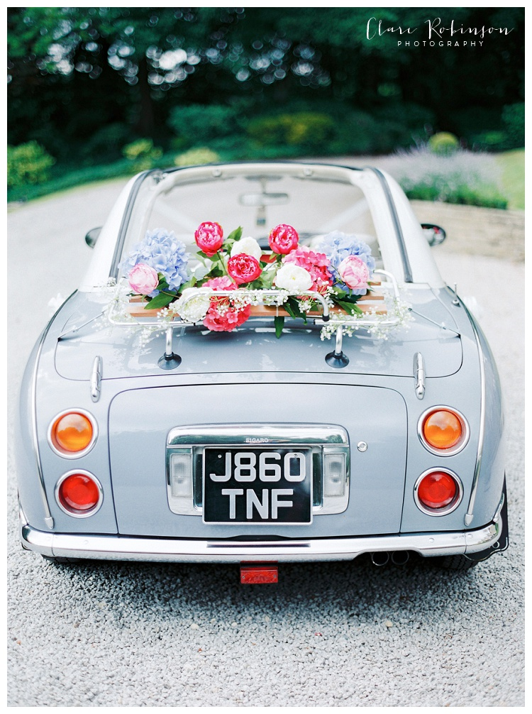 The brides Nissan Figaro Car