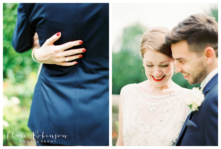 fine art portraits of bride and groom