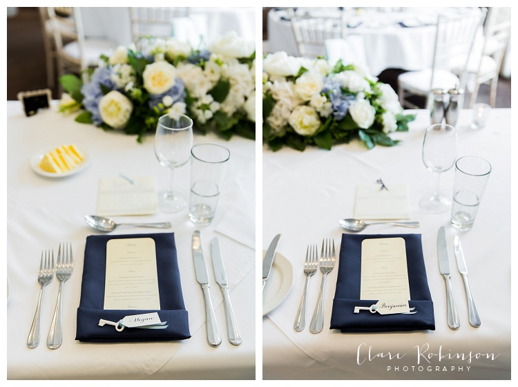 details of place setting