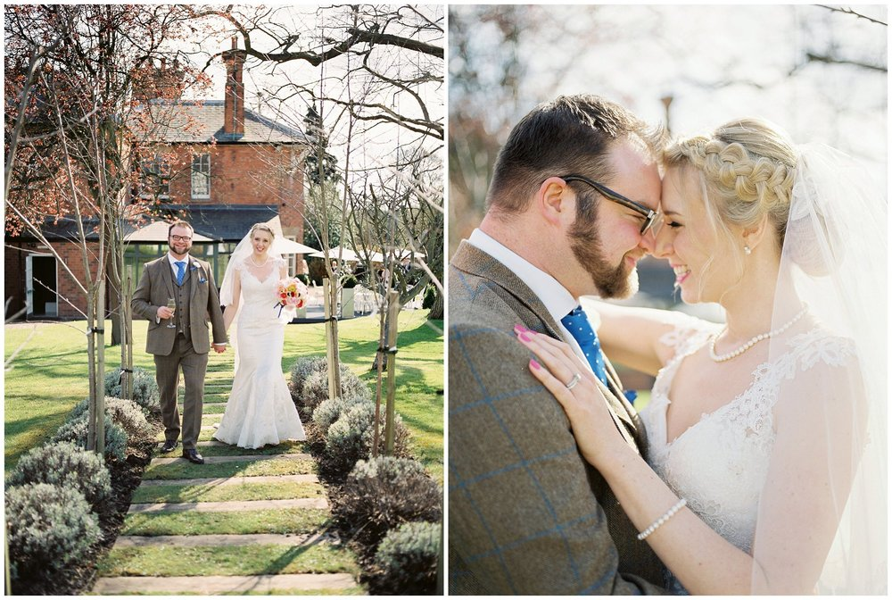 Spring portrait at the Old Vicarage Hotel Southwell