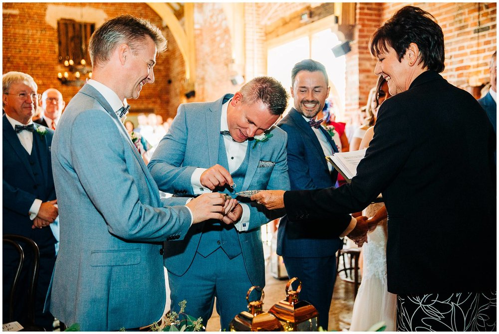 Chic Summer Wedding at Hazel Gap Barn - Nottinghamshire Photographer21.jpg