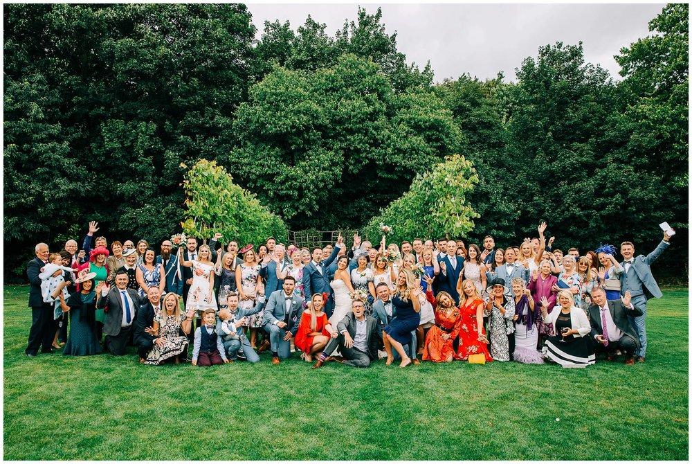 Chic Summer Wedding at Hazel Gap Barn - Nottinghamshire Photographer42.jpg
