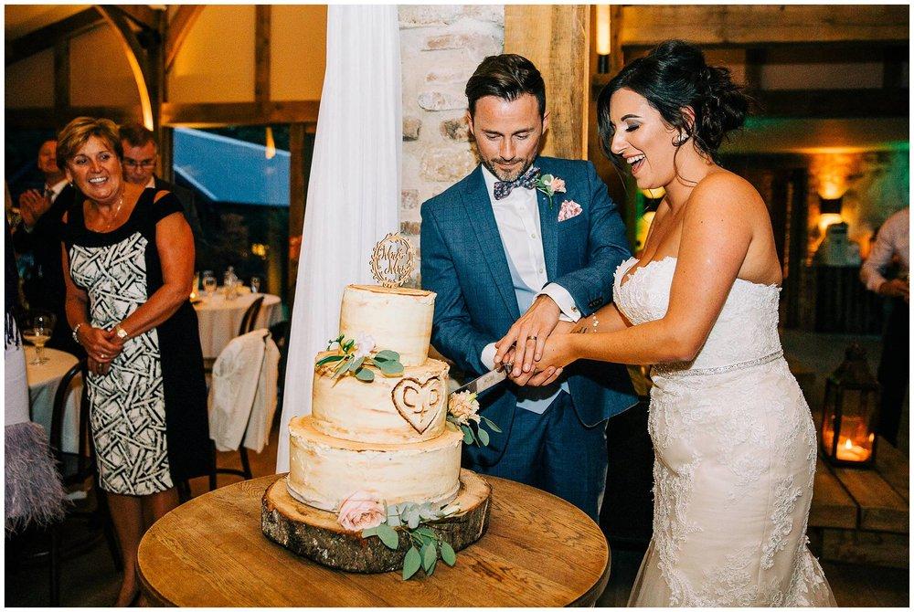 Chic Summer Wedding at Hazel Gap Barn - Nottinghamshire Photographer67.jpg
