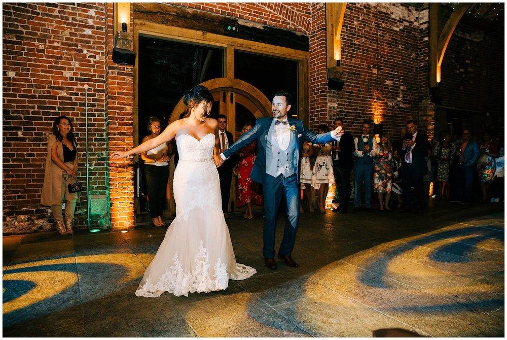 Chic Summer Wedding at Hazel Gap Barn - Nottinghamshire Photographer70.jpg