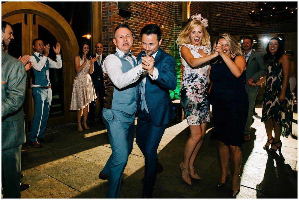Chic Summer Wedding at Hazel Gap Barn - Nottinghamshire Photographer73.jpg