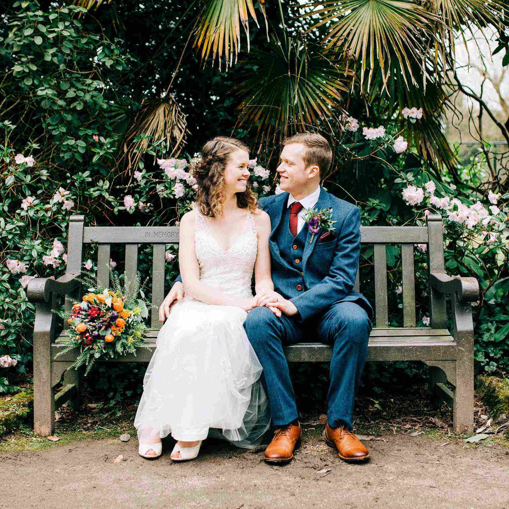 RUTH & BEN - GARDEN WEDDING & ELEVEN DIDSBURY