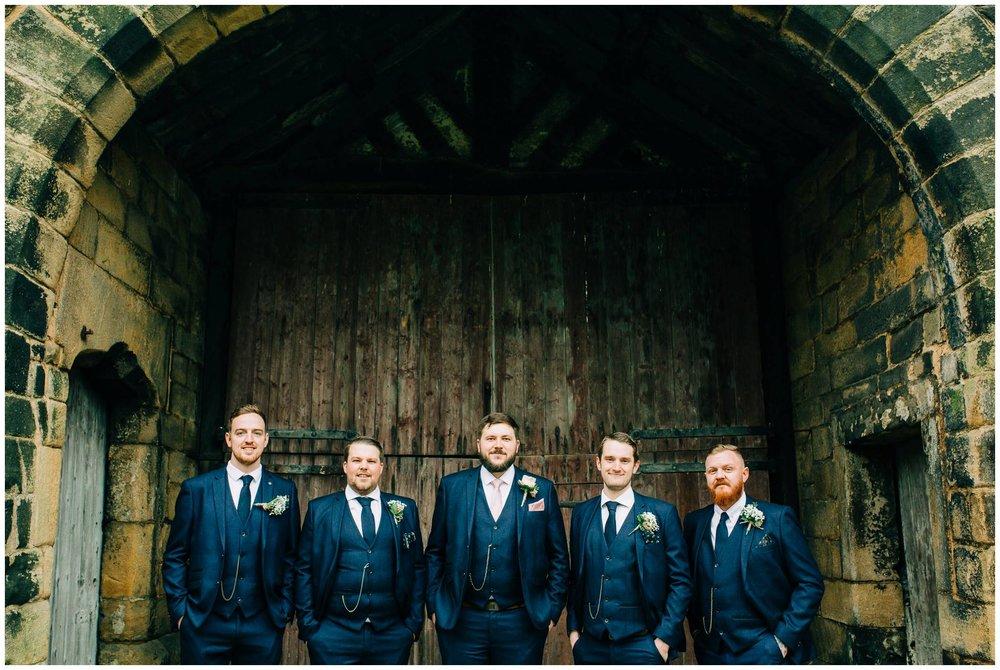 East Riddlesden Hall Photographer - Rustic winter Barn Wedding_0014.jpg