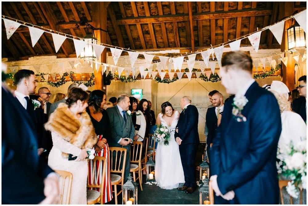 East Riddlesden Hall Photographer - Rustic winter Barn Wedding_0026.jpg