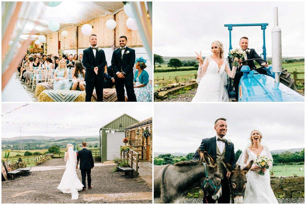 Festival wedding at Wellbeing Farm  - Bolton Wedding Photographer-29.jpg