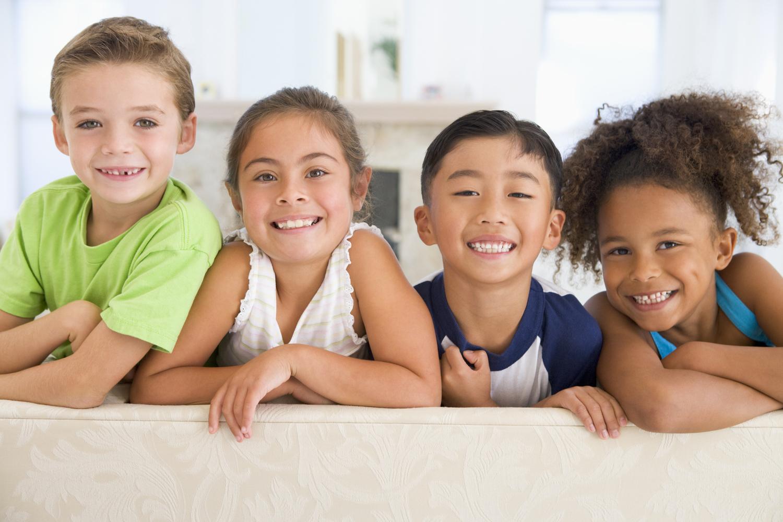 4 little kids smilingjpg - Picture Of Little Kids