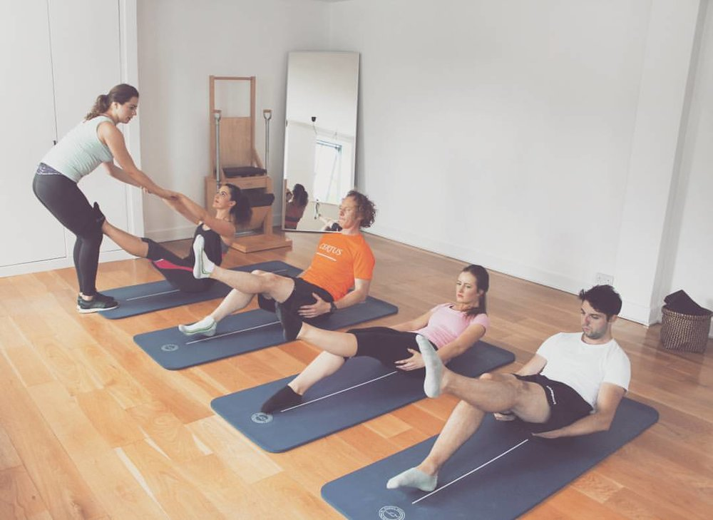 Semi-Private Mat Class, 3-5 participants maximum, The Pilates Studio Dublin