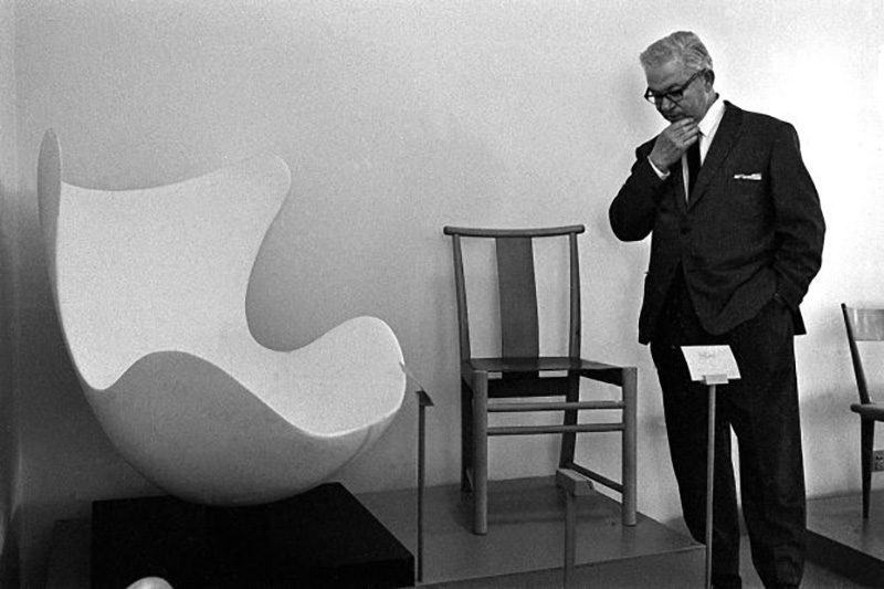 Maria's Uncle, Arne Jacobsen and his famous Egg Chair