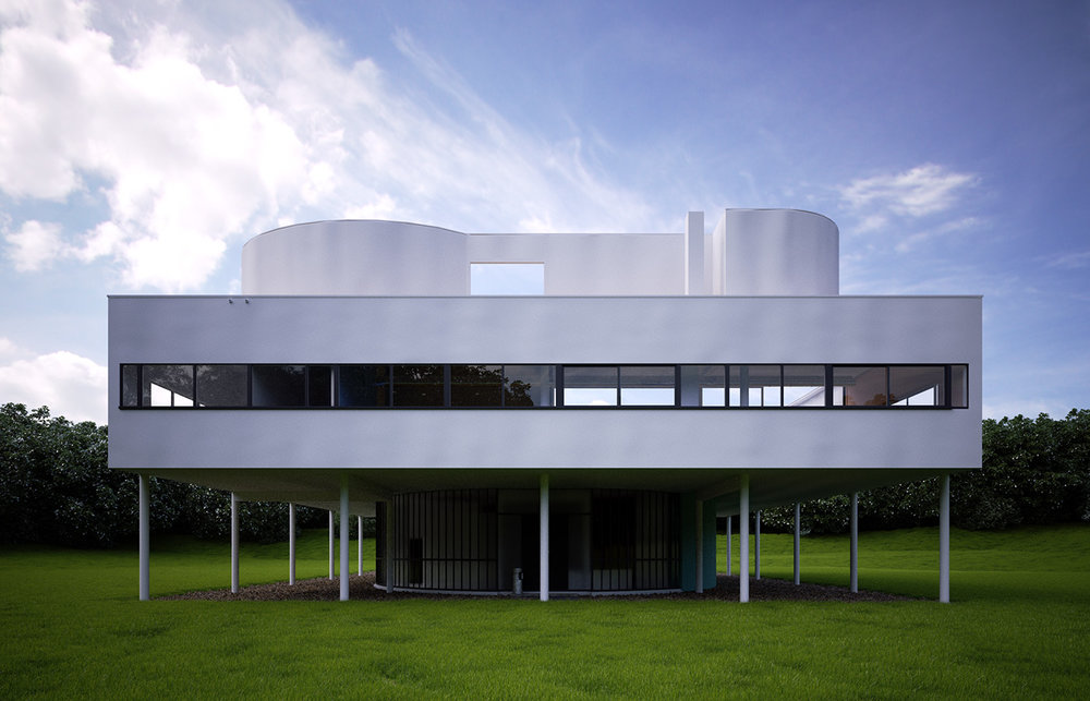 Villa Savoye, Paris, France