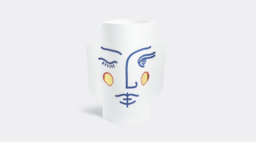 say hi to_ Janus Paper Vase