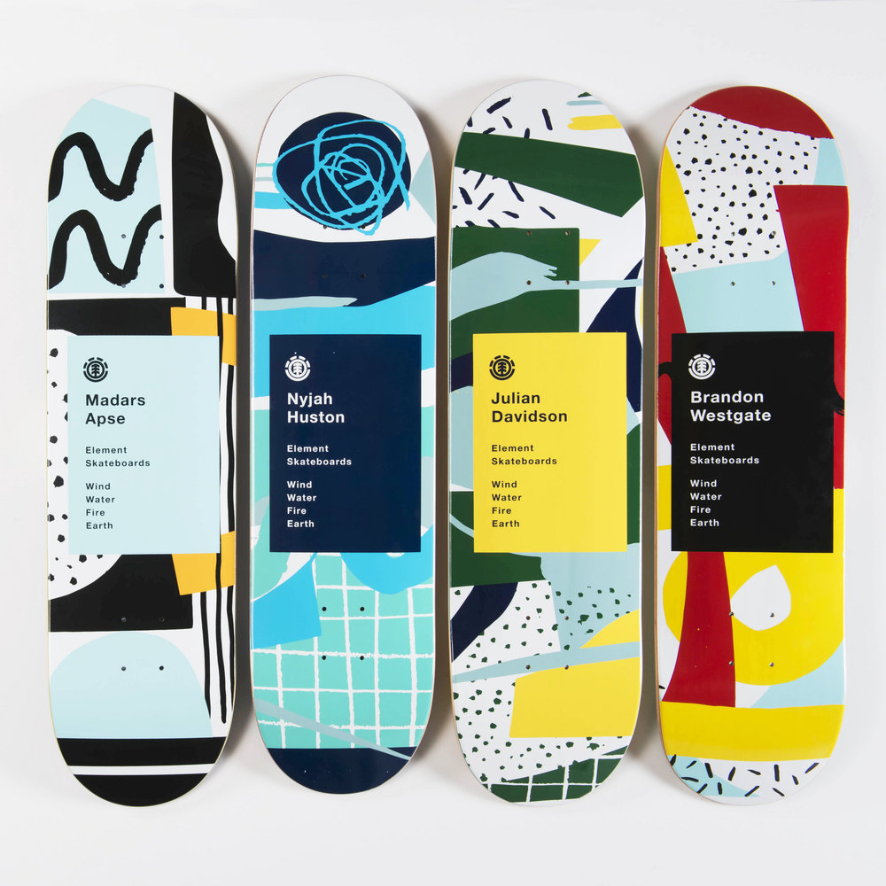 say hi t_ Atelier Bingo x Element Skateboards