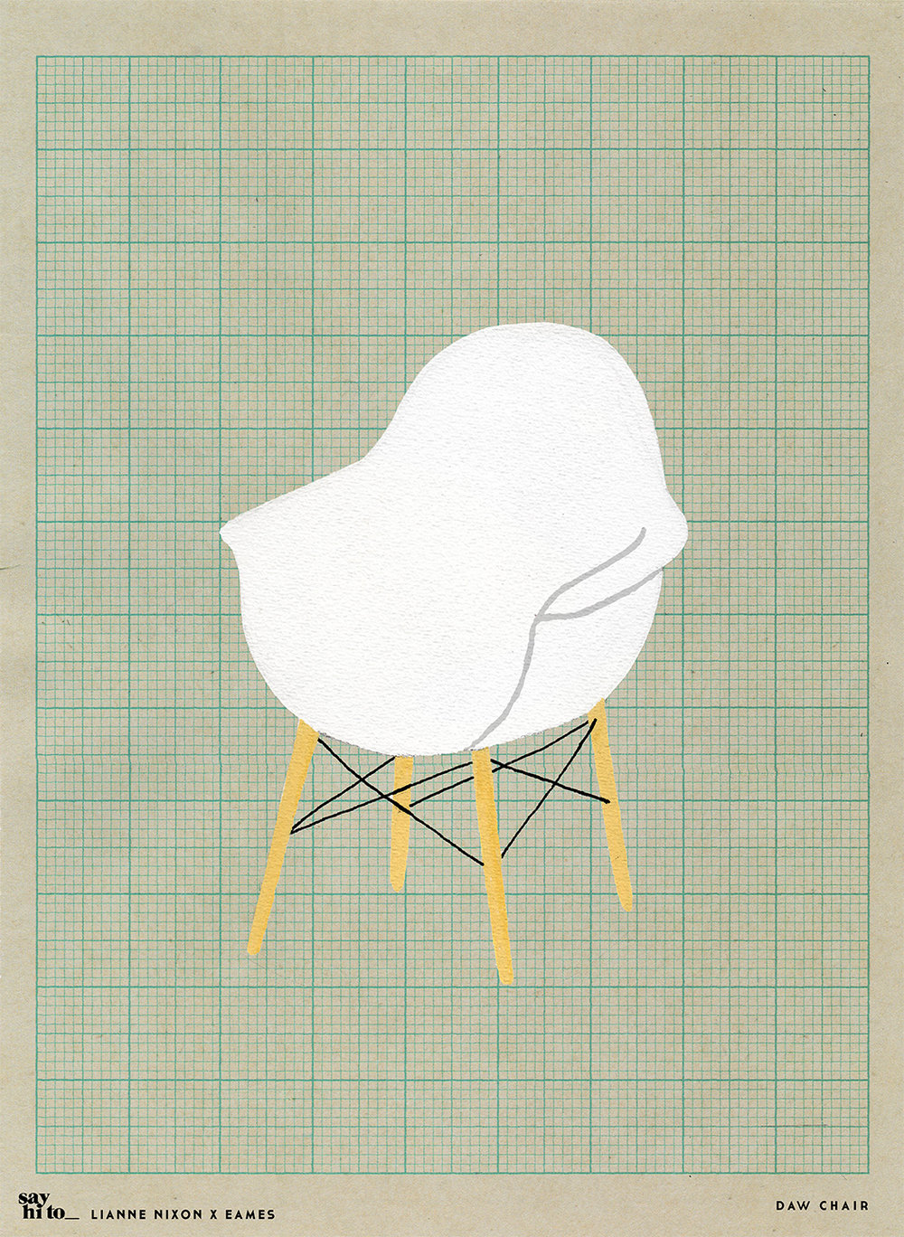 say hi to_ Lianne Nixon x Eames