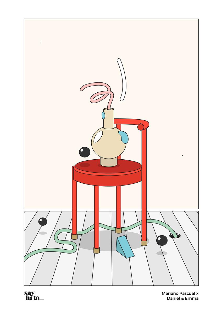 say hi to_ Design Studies | Mariano Pascual x Daniel Emma