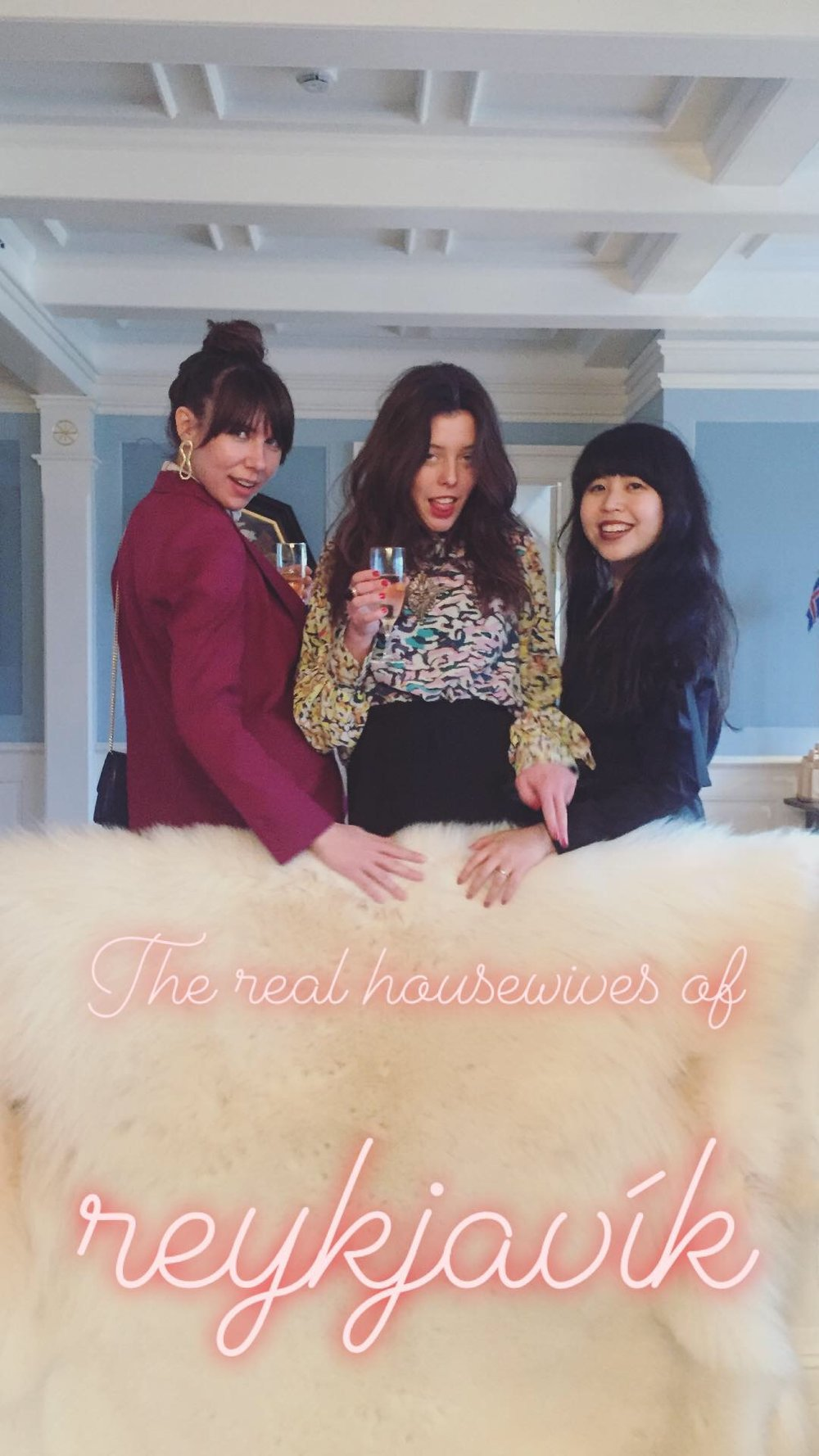 say hi to_ The Real Housewives of Reykjavik
