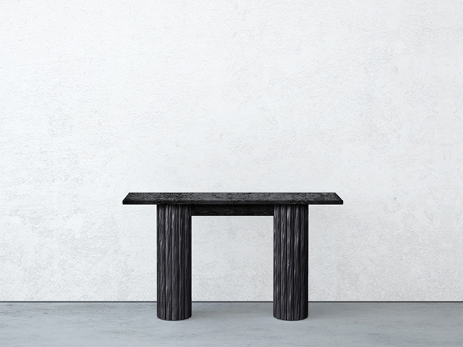 say hi to_ Contemporary Creations in Unique Materials Kitayama Tables by Garnier & Linker