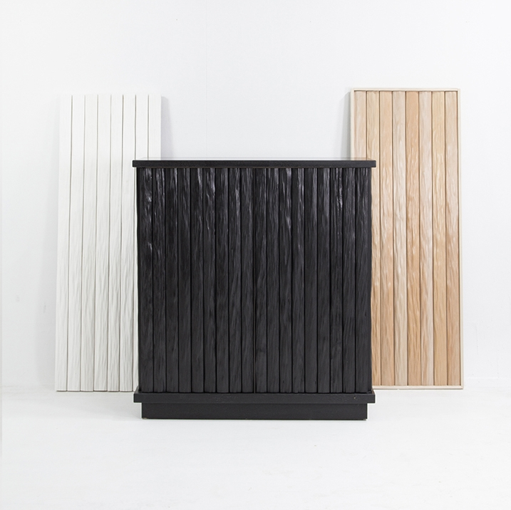 say hi to_ Contemporary Creations in Unique Materials Kitayama Buffet by Garnier & Linker