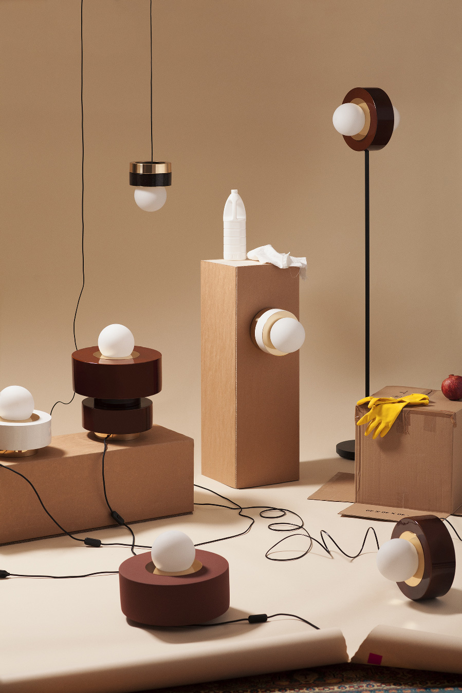 say hi to_ HAOS Object Design Lamps