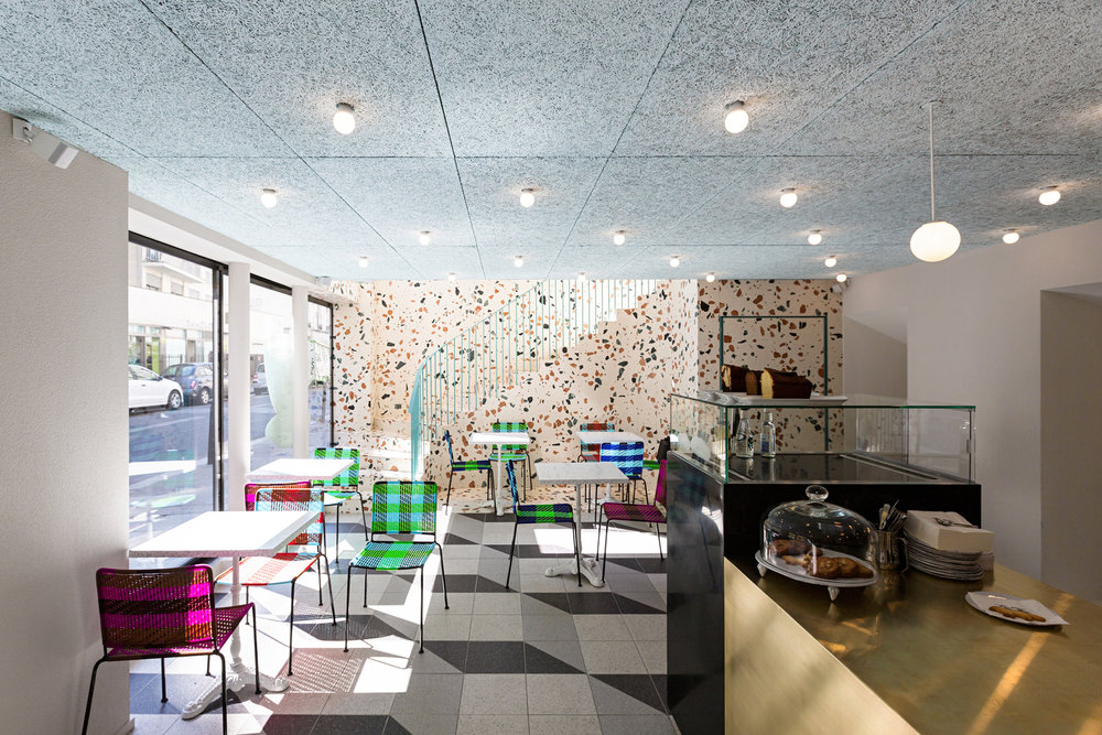 say hi to_ Studio Henry Architect Café Kitsune