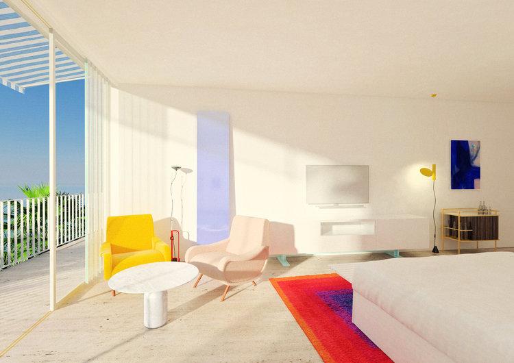 say hi to_ Studio Henry Architect Le Bailli de Suffren Hotel