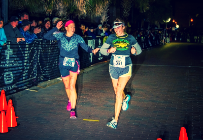 Finishing my First IronDistance: Beach 2 Battleship 2013 with One of My Besties