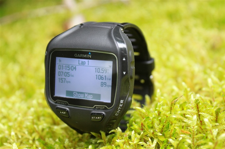 Somebody else threw their Garmin in the grass.
