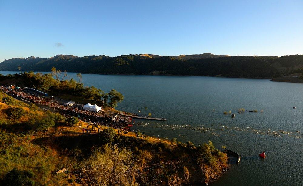 Santa Rosa Swim Start