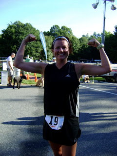 My very first triathlon in 2008. The Charlotte SheRox.