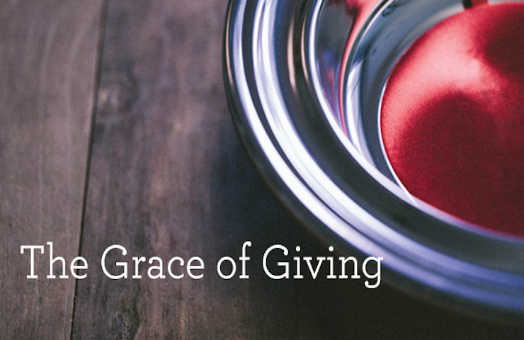 The Grace to Give