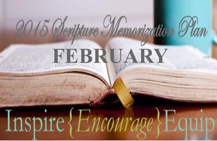 February Scripture Memorization Plan