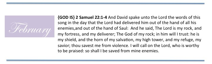 February Scripture Memorization