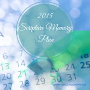 Scripture Memorization Plan